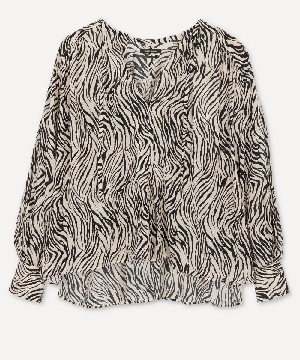 Isabel Marant - Amba Printed Cotton Blouse