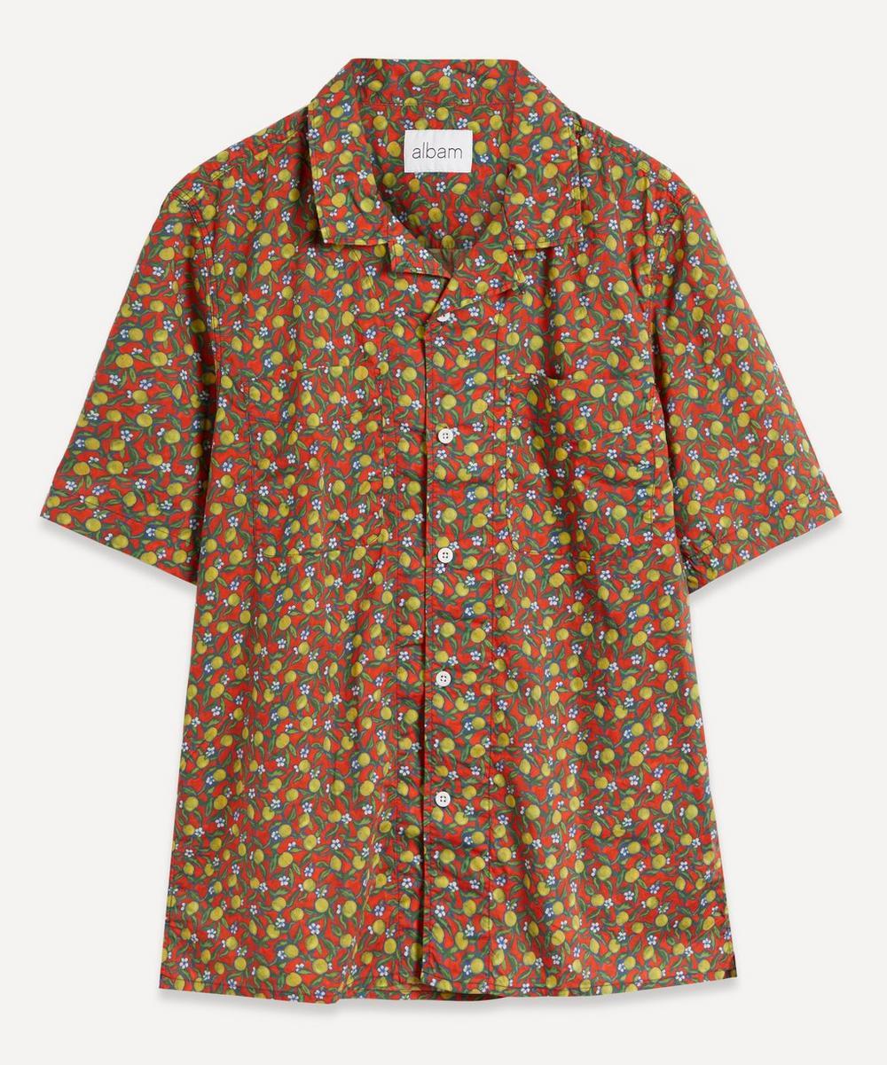 Albam - Liberty Print Short-Sleeve Shirt