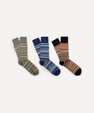 Signature Stripe Socks Pack of Three