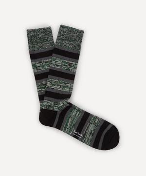 Chunky Stripe Marl Socks
