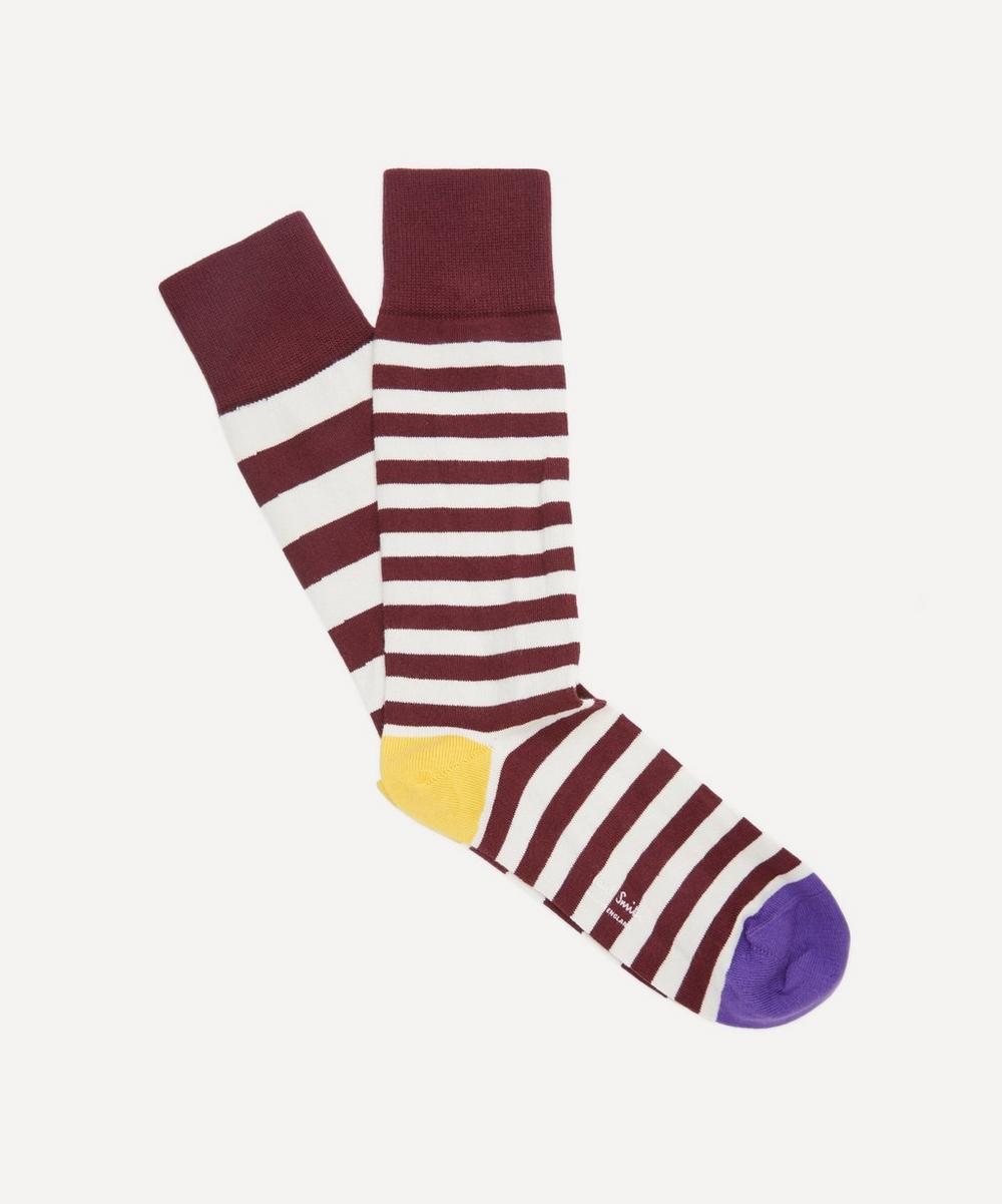 Paul Smith - Striped Odd Socks