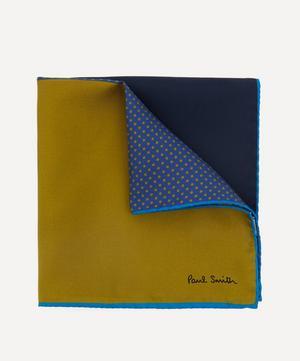 Block Silk Pocket Square