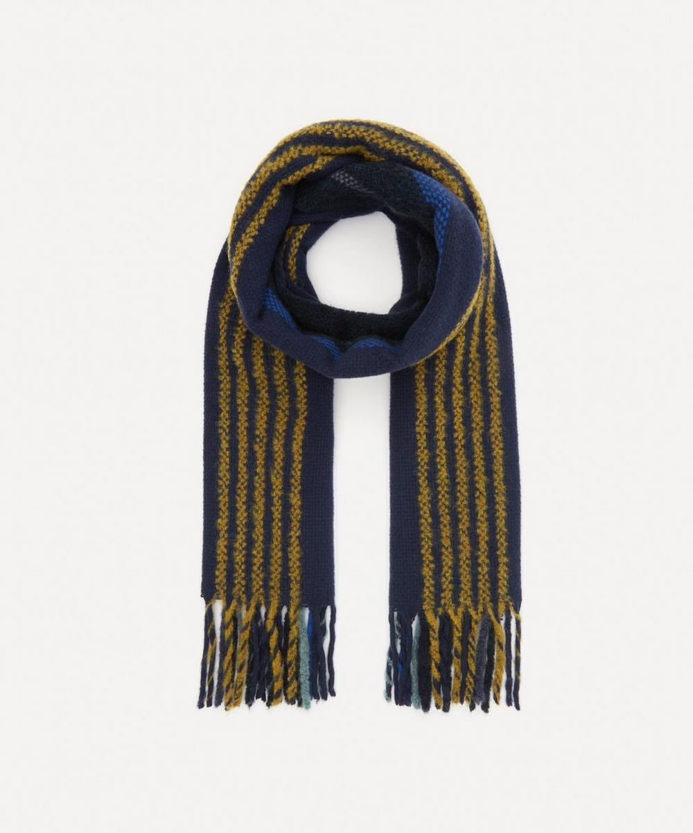Paul Smith - Thin Stripe Wool Scarf
