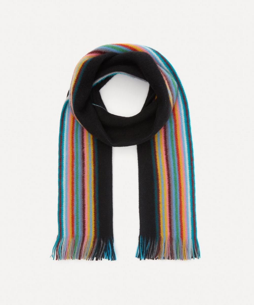 Paul Smith - Reversible Ombre Wool Scarf