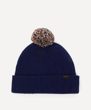 Knitted Wool Bobble Hat