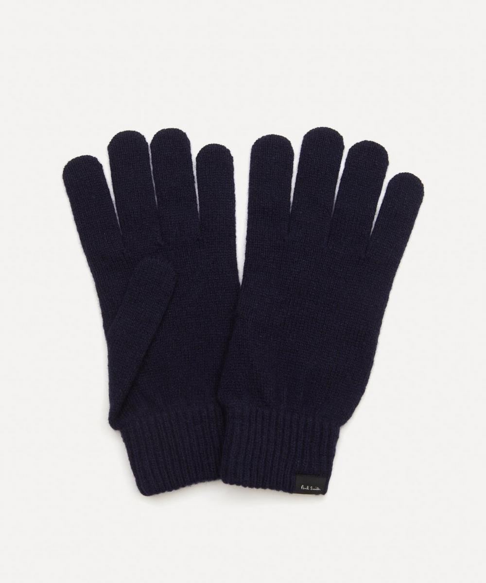 Paul Smith - Knitted Cashmere-Blend Gloves