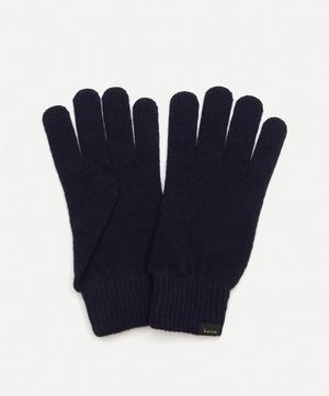 Knitted Cashmere-Blend Gloves