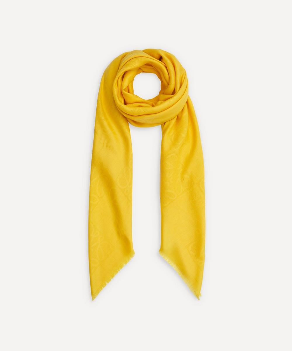 Loewe - Damero Wool-Blend Scarf