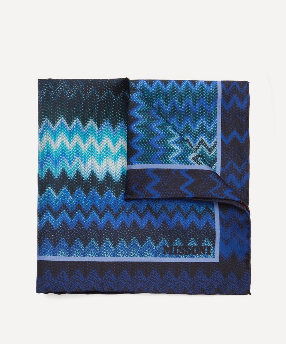 Missoni - Zig-Zag Silk-Twill Pocket Square