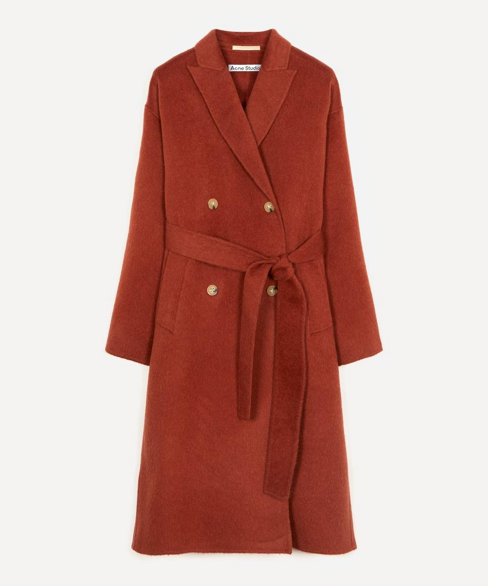 Acne Studios - Double-Faced Wool-Blend Overcoat