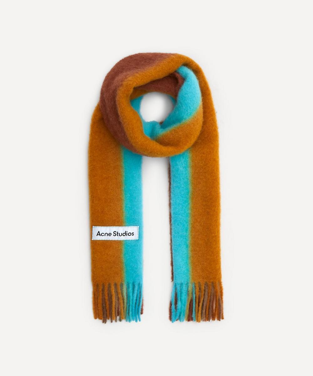 Acne Studios - Striped Alpaca-Blend Scarf