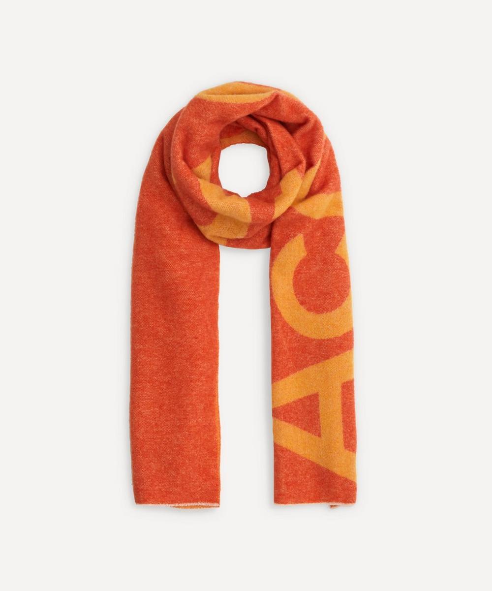 Acne Studios - Toronty Wool-Blend Logo Jacquard Scarf