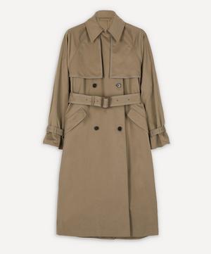 Octa Oversized Cotton Trench Coat