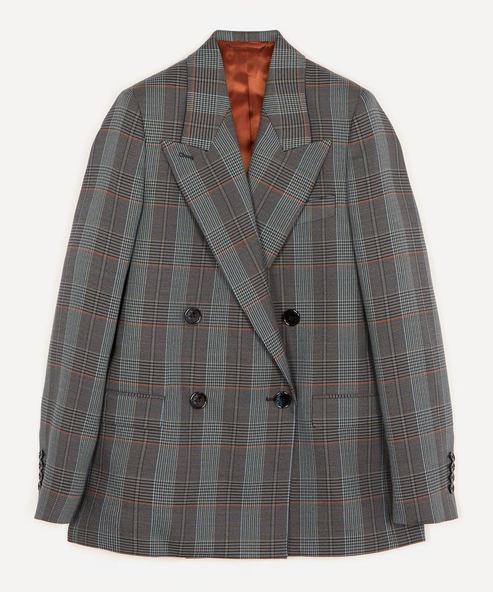 Acne Studios - Double-Breasted Checked Suit Jacket