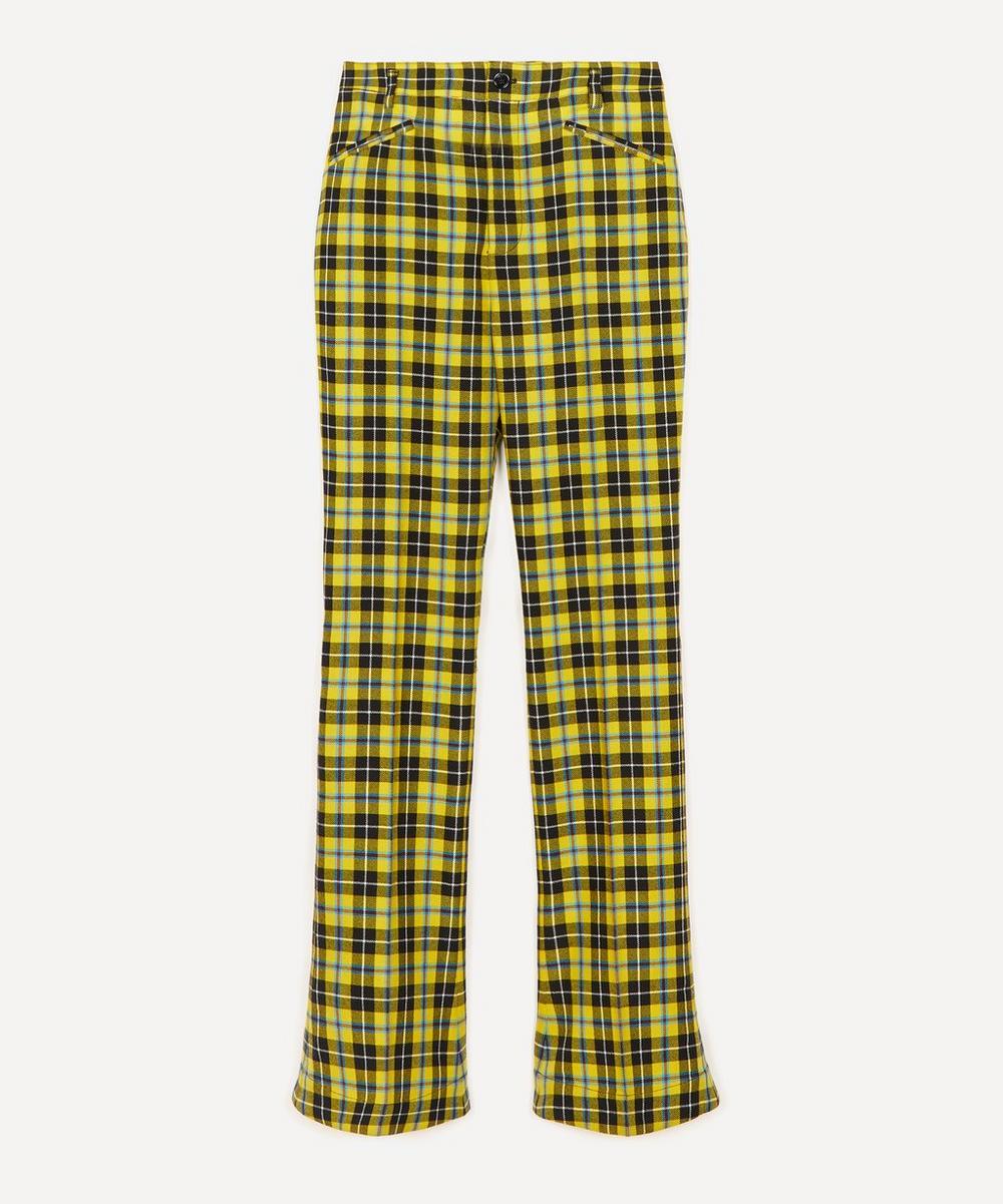 Acne Studios - Slim-Fit Tartan Wool Trousers