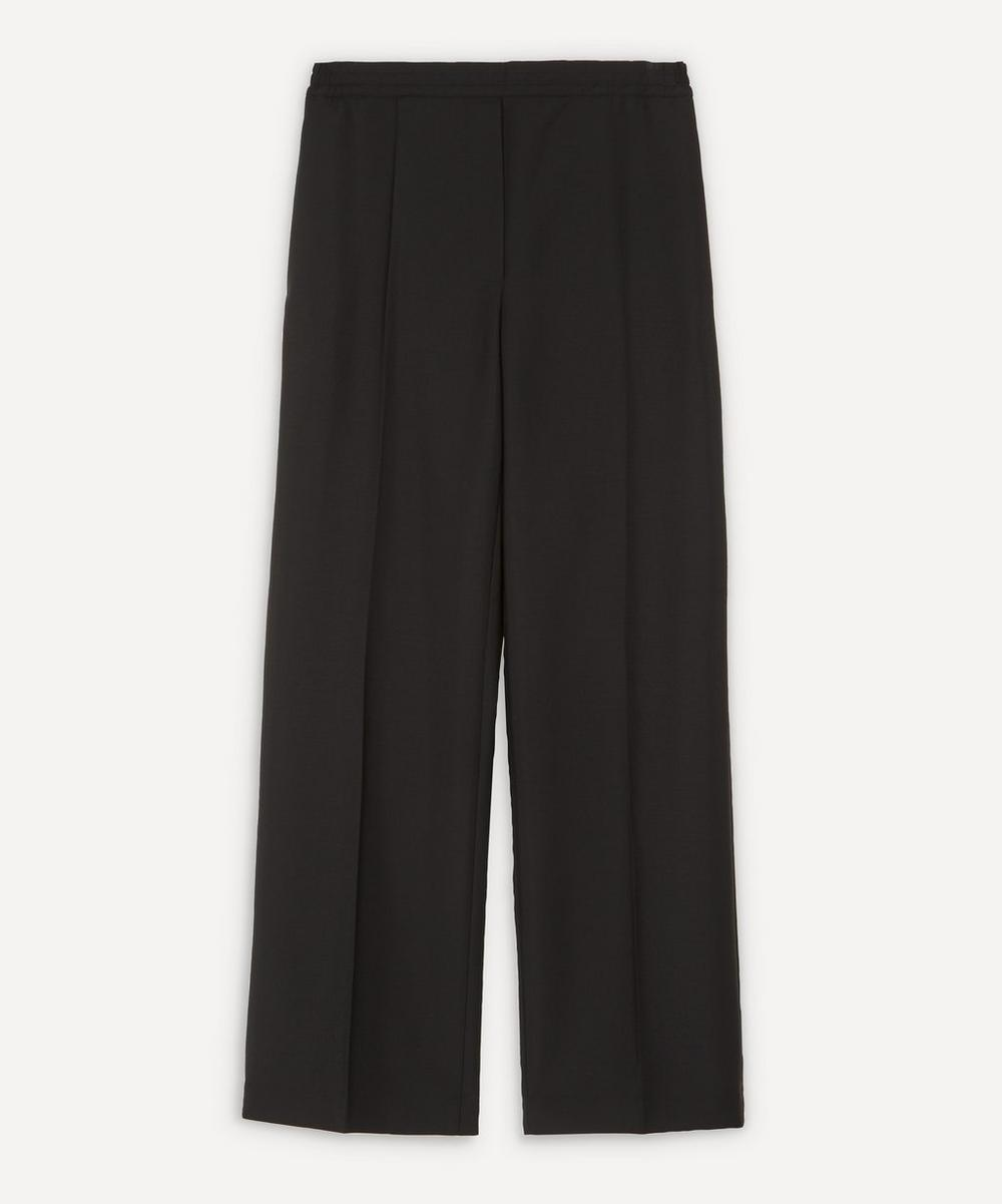 Acne Studios - Front Pleat Wool-Blend Trousers