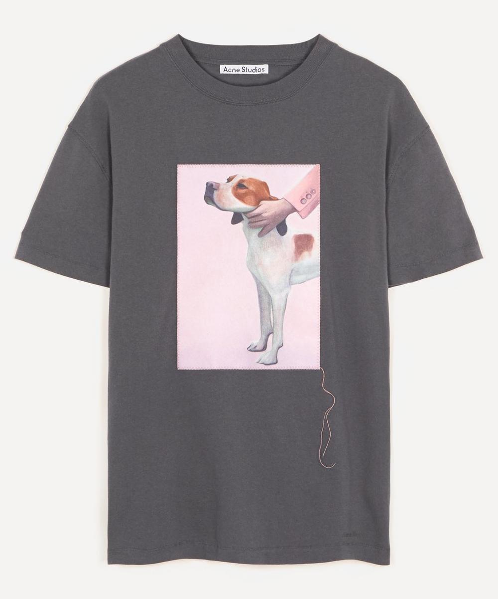 Acne Studios - Painted Dog Cotton T-Shirt
