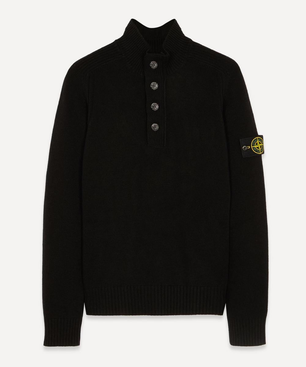 Stone Island - Half-Button Wool Knit