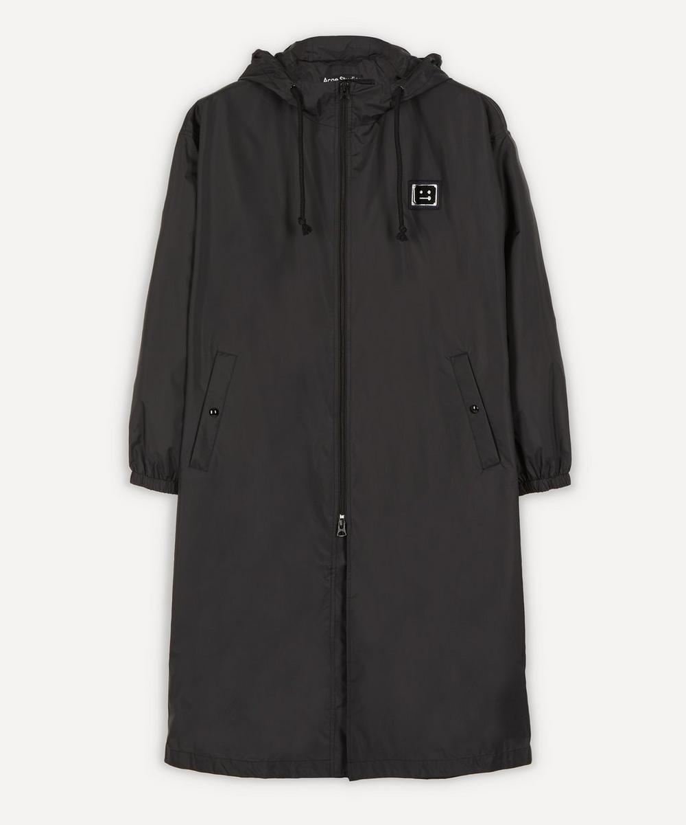 Acne Studios - Ormes Face Logo Technical Raincoat