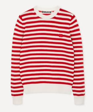 Kalon Face Stripe Knit Sweater