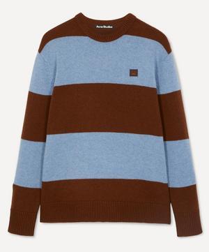 Nimah Block-Stripe Knit Sweater