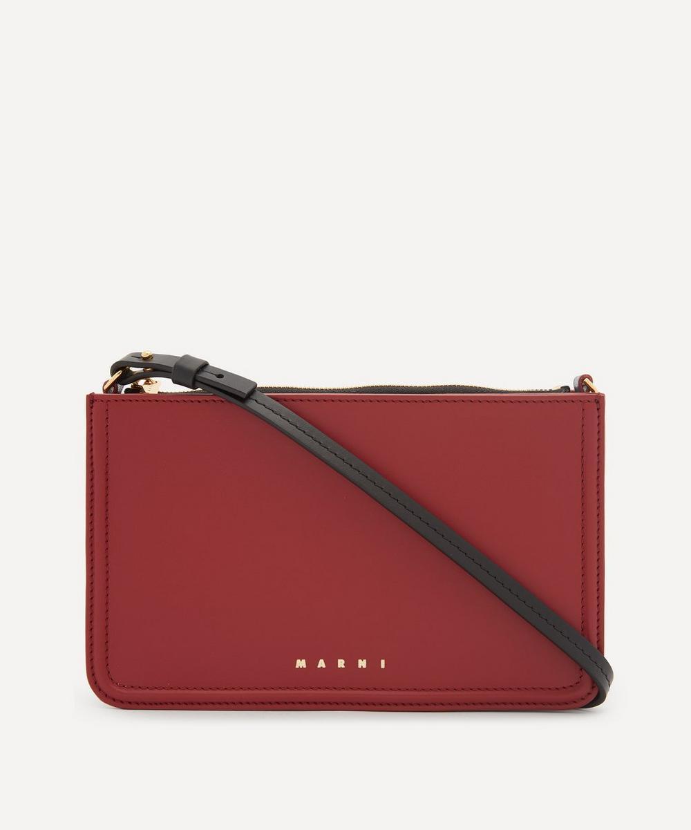 Marni - Leather Cross-Body Bag