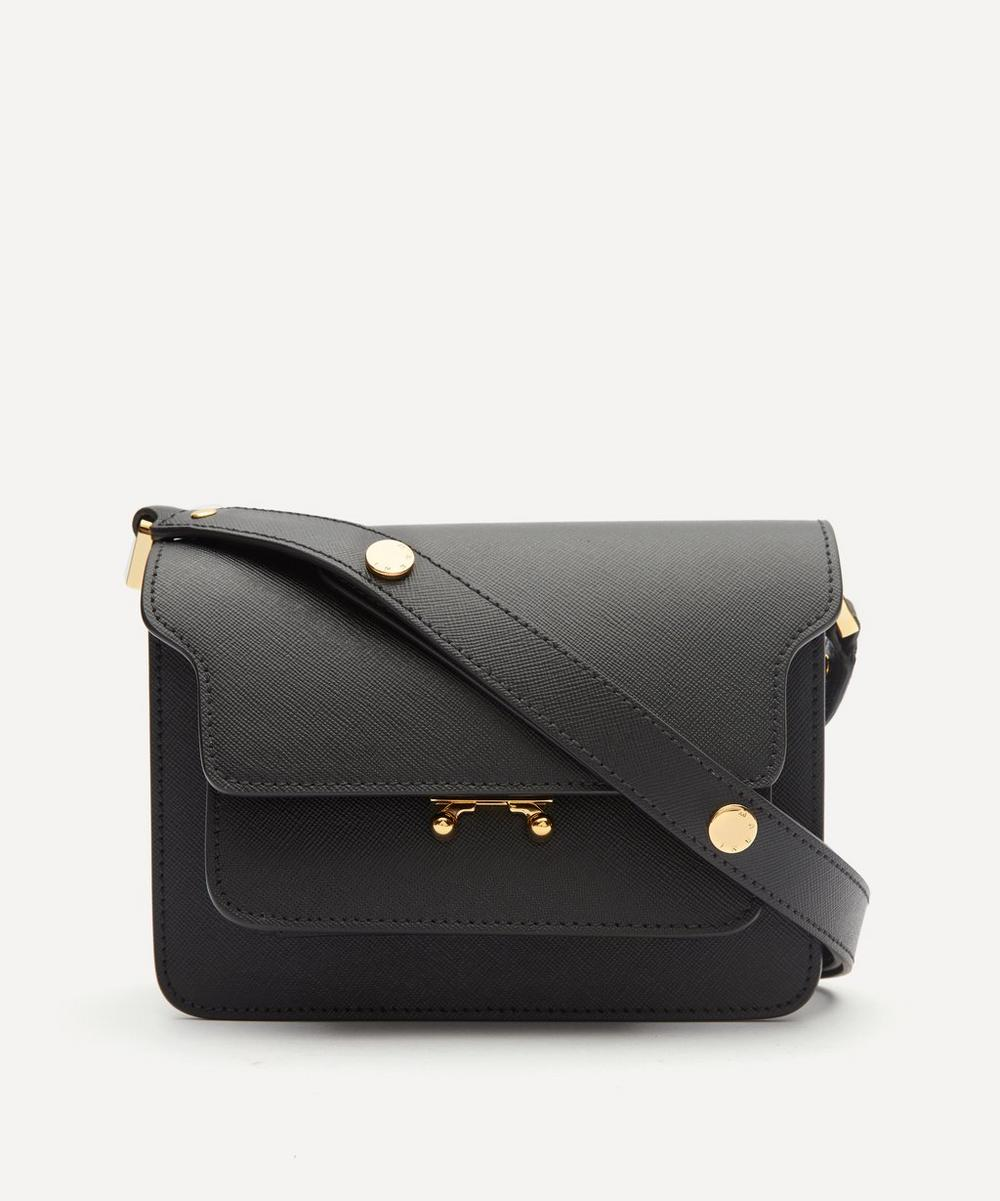 Marni - Trunk Mini Leather Shoulder Bag