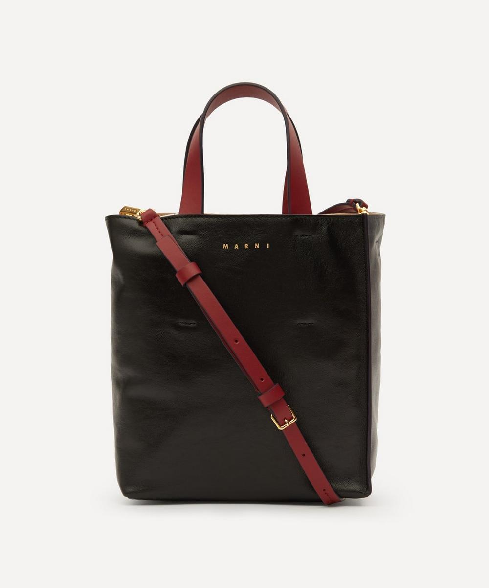 Marni - Museo Mini Leather Tote Bag