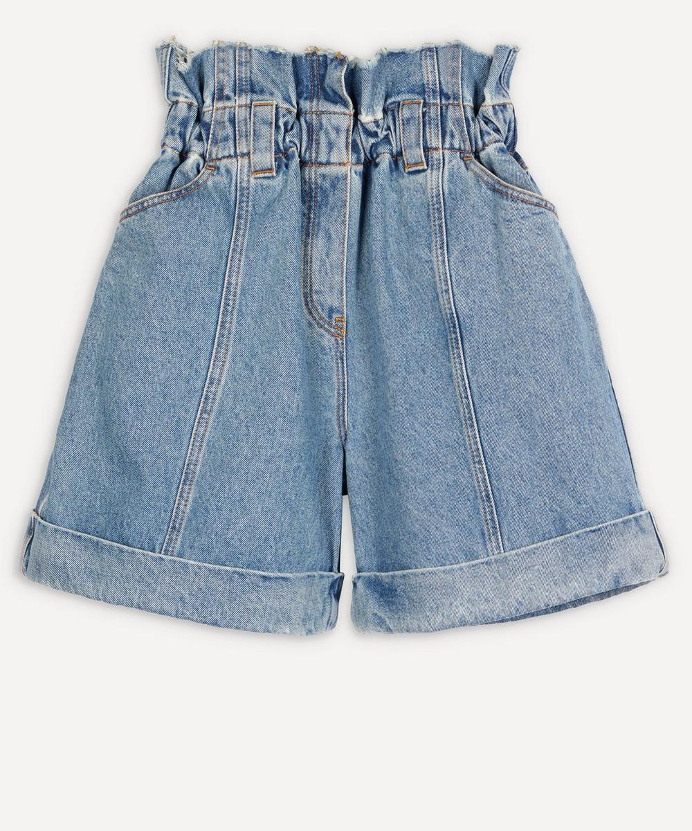 Philosophy di Lorenzo Serafini - High-Waisted Denim Shorts