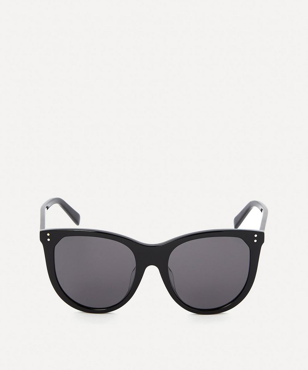Celine - Large Cat-Eye Acetate Sunglasses