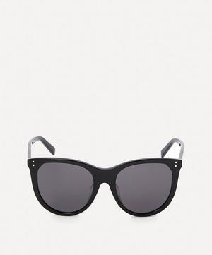 Large Cat-Eye Acetate Sunglasses