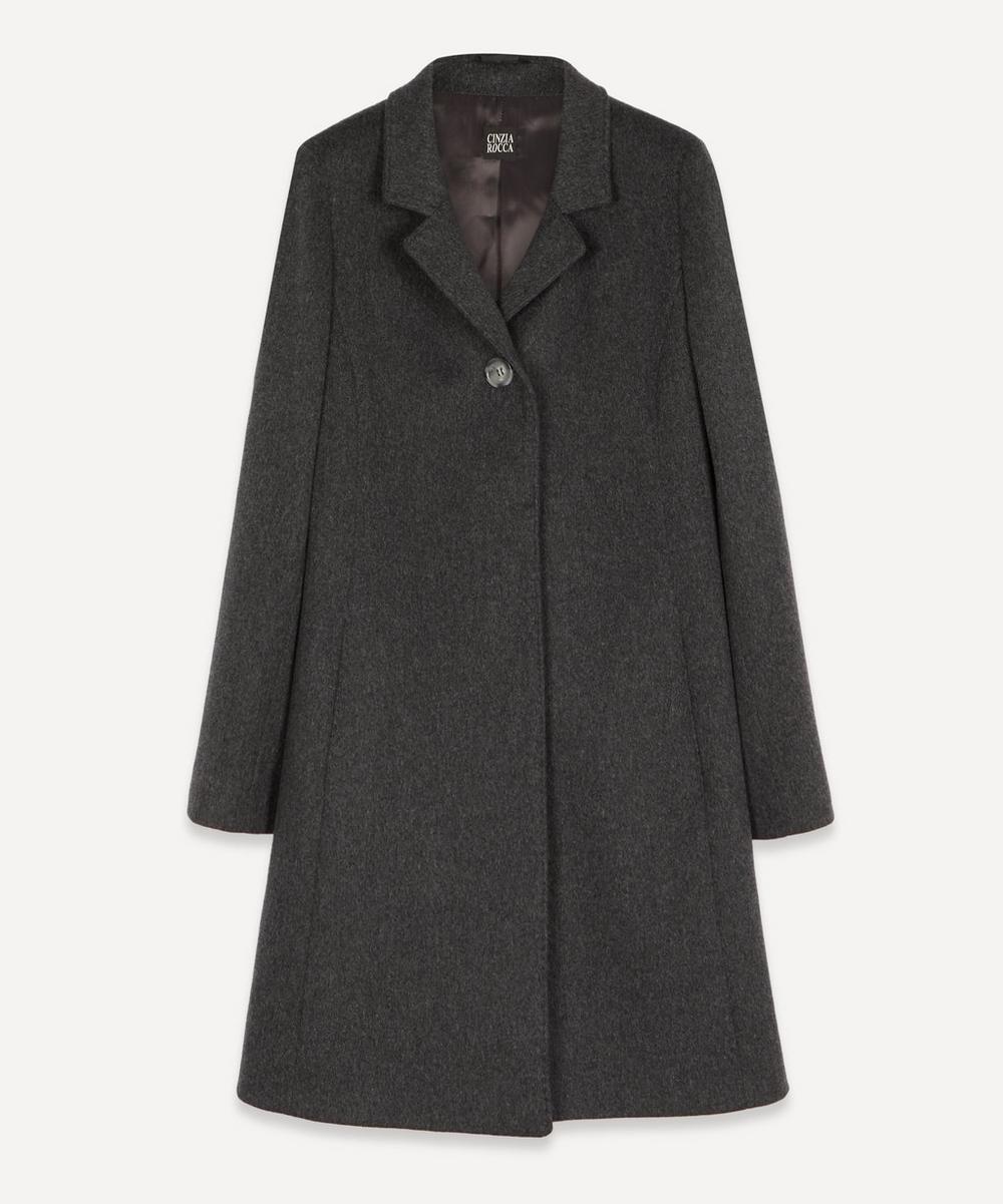 Cinzia Rocca - Loro Piana Single Button Wool Coat
