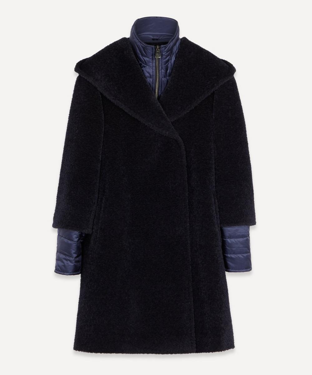 Cinzia Rocca - Textured Marl Puffer Insert Coat
