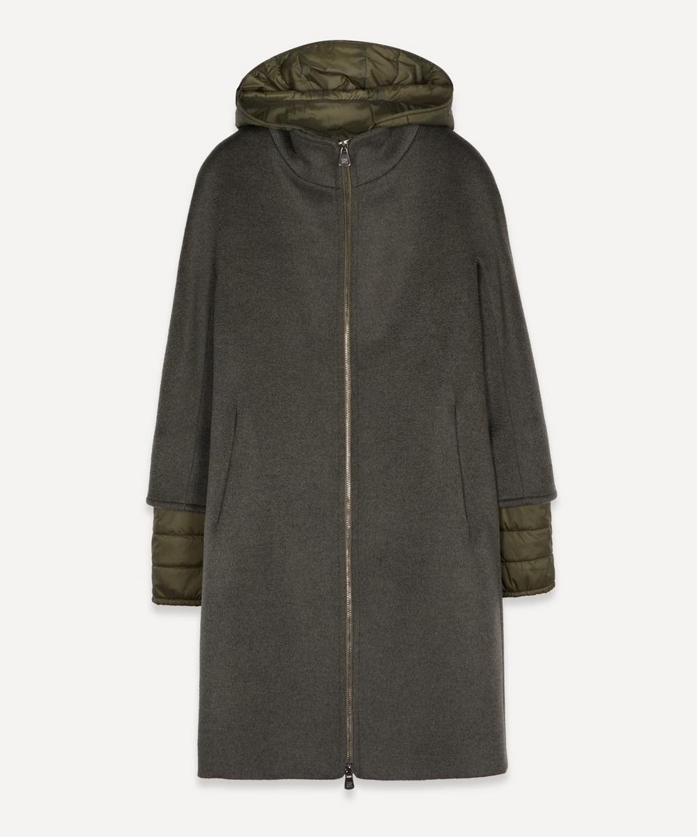 Cinzia Rocca - Hooded Puffer Insert Coat
