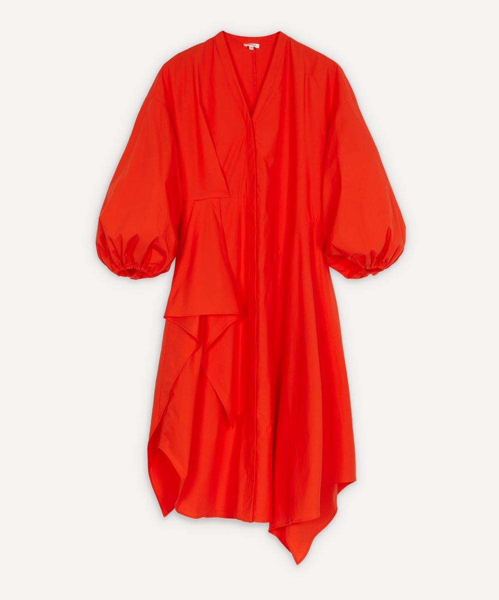 Enföld - Asymmetric Volume-Sleeve Dress