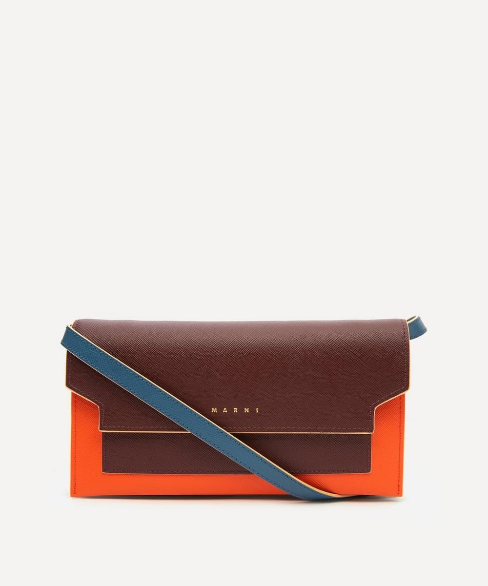 Marni - Leather Wallet Bag
