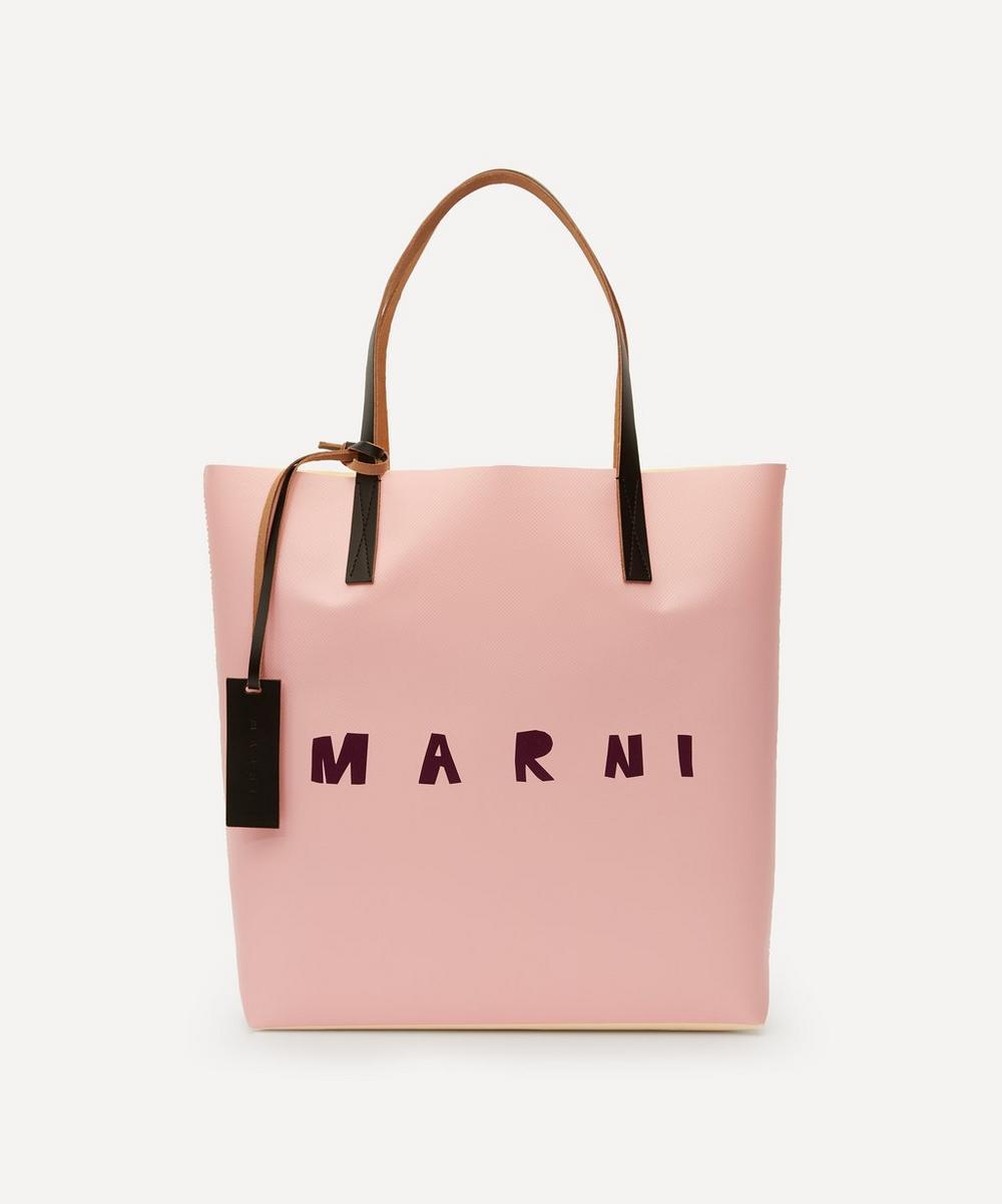 Marni - Logo Print Tote Bag