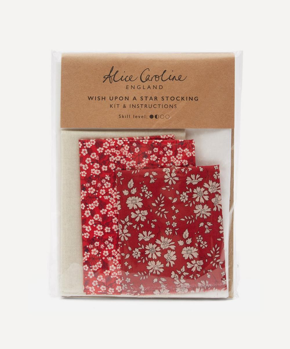 Alice Caroline - Christmas Patchwork Stocking Kit