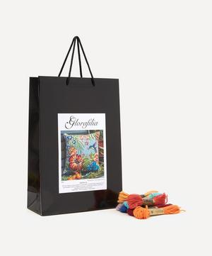 Tropical Flowers Embroidery Sewing Kit