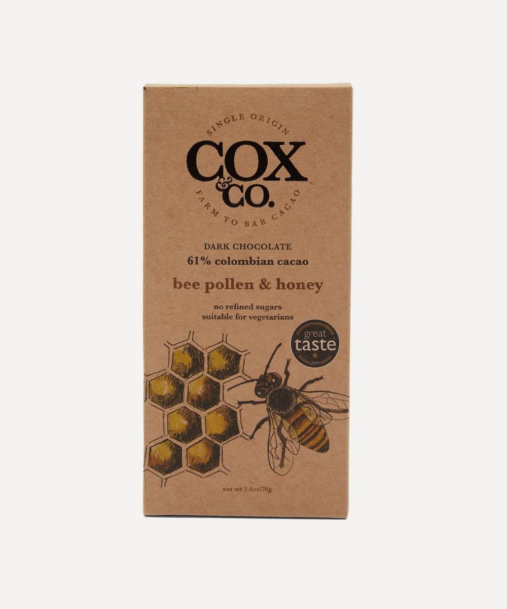 Cox&Co - Bee Pollen & Honey Chocolate Bar 70g