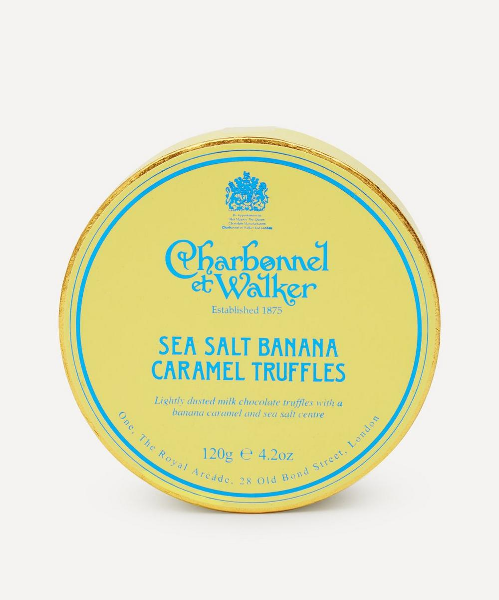 Charbonnel et Walker - Banana Sea Salt Caramel Truffles 120g