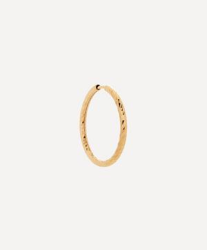Gold Alba 20 Hoop Earring