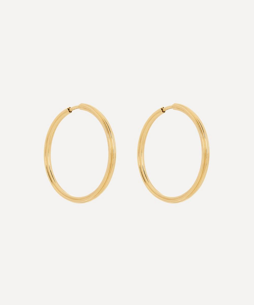 Maria Black - Gold-Plated Sunset 25 Hoop Earrings