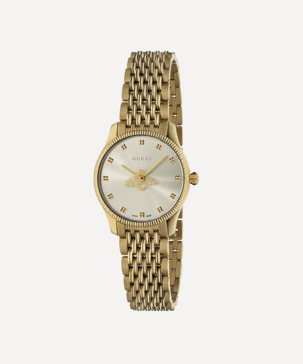 Gucci - G-Timeless Gold PVD Bee Motif Watch