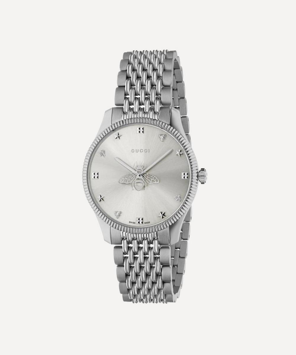 Gucci - G-Timeless Stainless Steel Bee Motif Watch