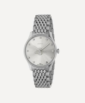G-Timeless Stainless Steel Bee Motif Watch