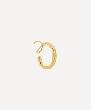Gold-Plated Marcelle Twirl Earring Right