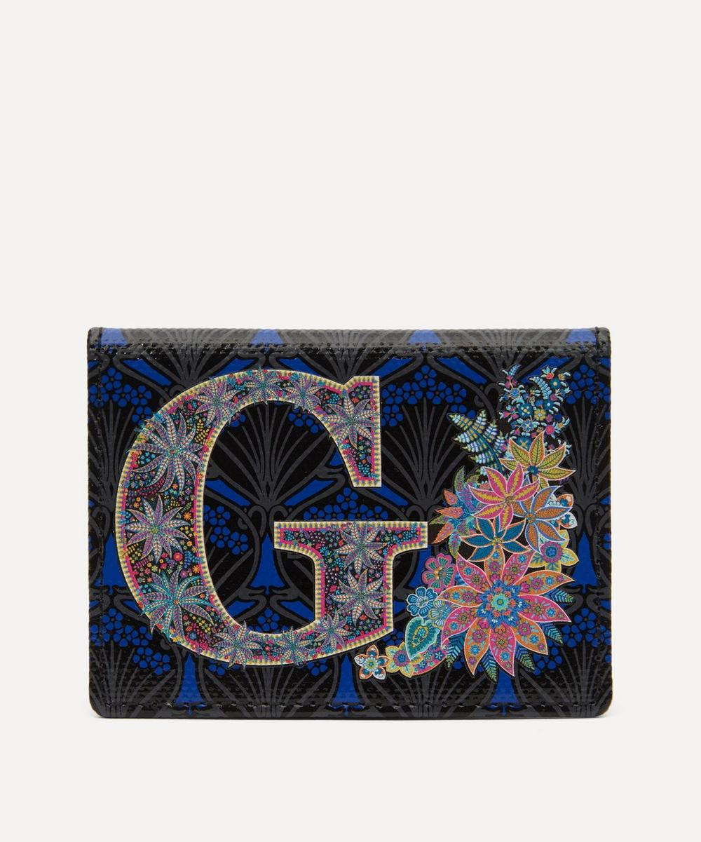 Liberty - Alphabet Travel Card Holder in G Print