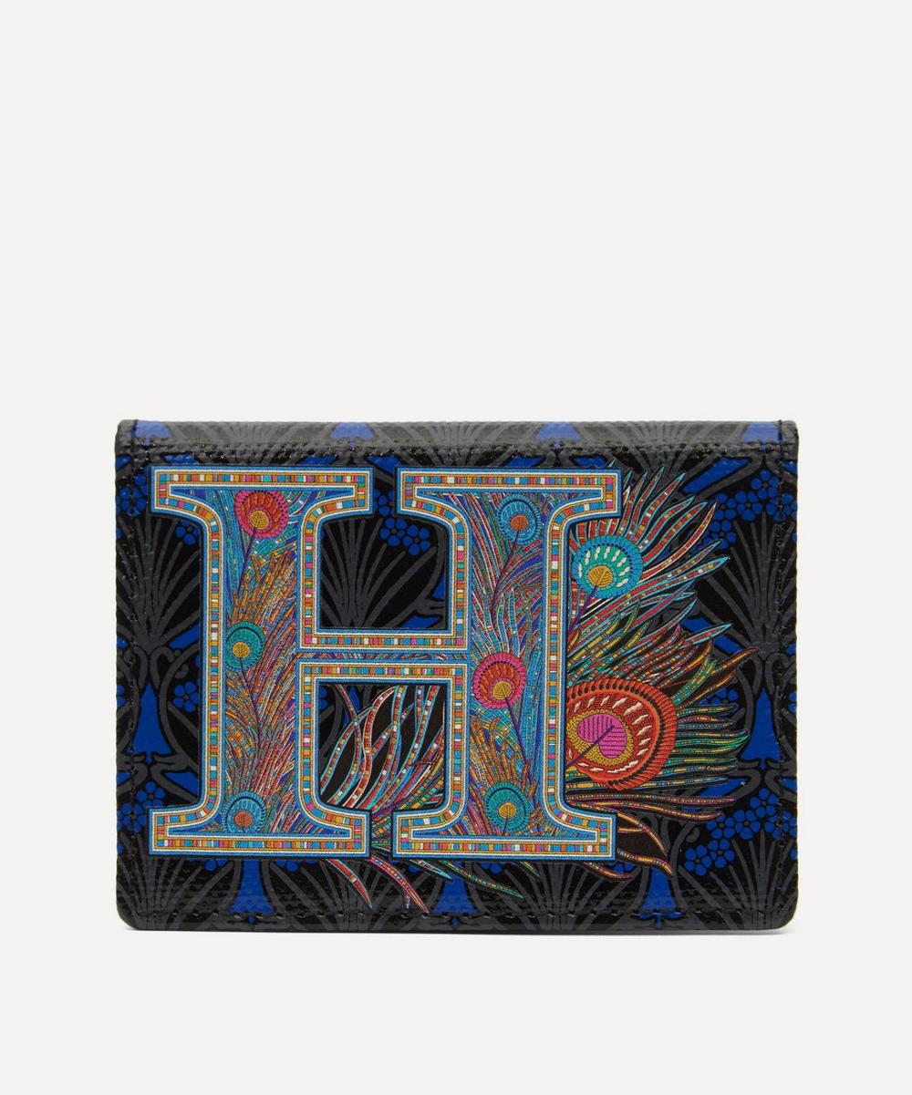 Liberty - Alphabet Travel Card Holder in H Print