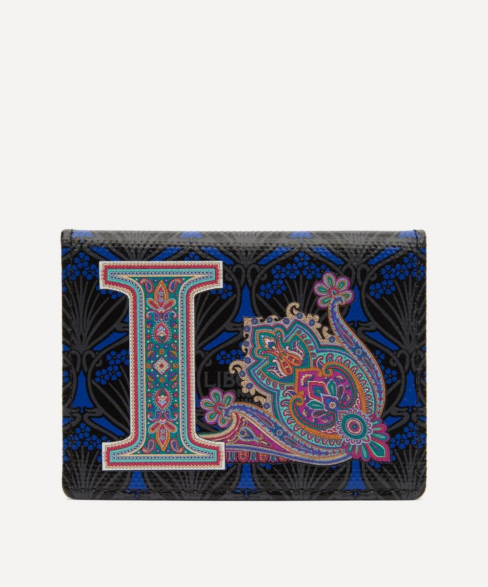Liberty - Alphabet Travel Card Holder in I Print